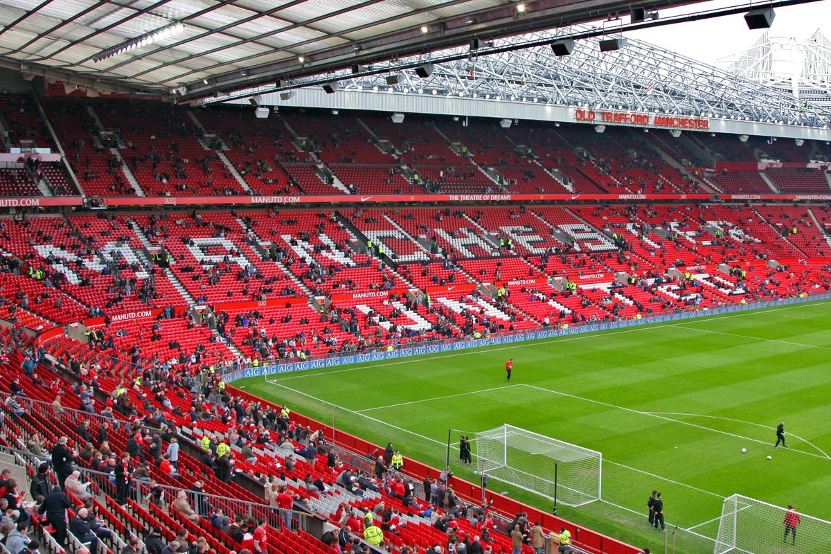 Football Wallpapers: Old Trafford Stadium