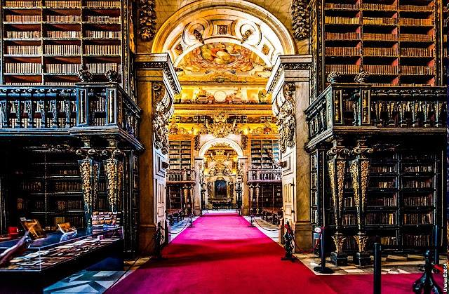 Biblioteca Joanina da Universidade de Coimbra - Coimbra (Portugal)