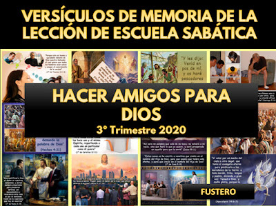 Versículos de Memoria de Escuela Sabática   3er Trimestre 2020   Cómo interpretar la Biblia   Imágenes