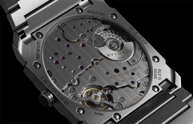 Bulgari Octo Finissimo S Steel Silvered Dial