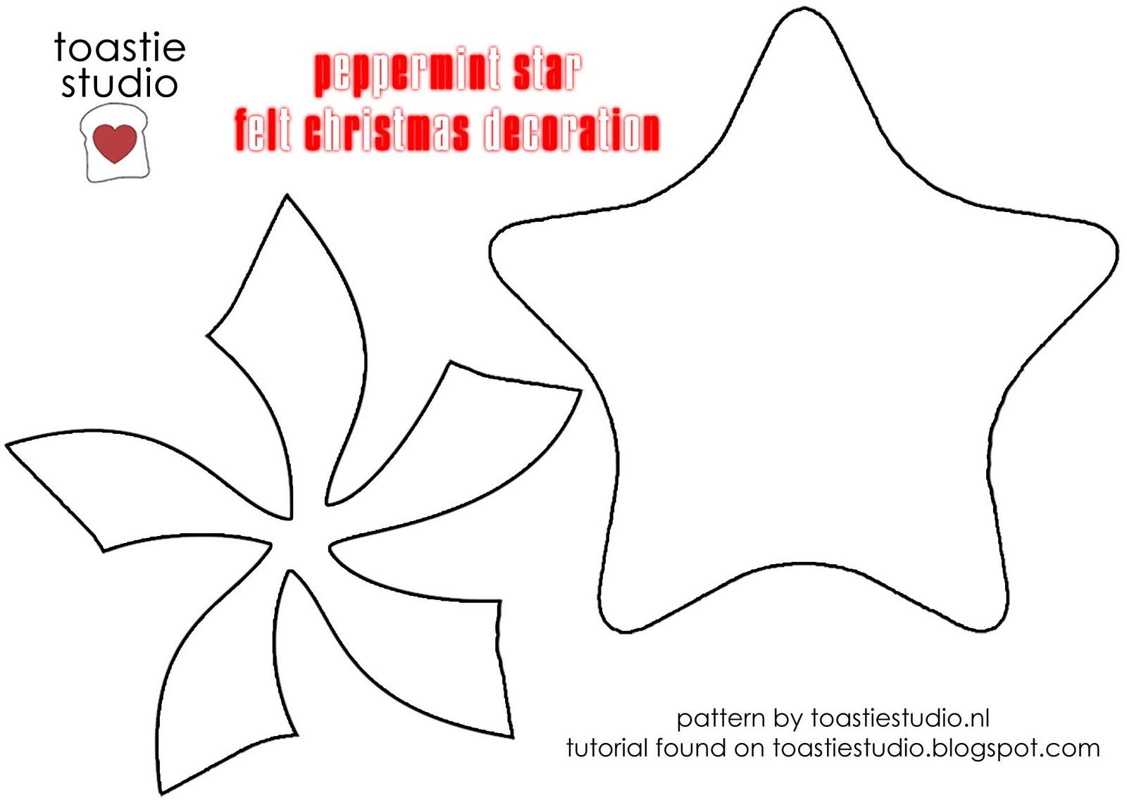 Christmas Tutorial Advent {Peppermint Star}