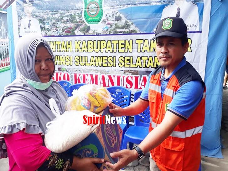 Pemkab Takalar, Peduli Korban Bencana Tsunami/Gempa di Palu dan Donggala