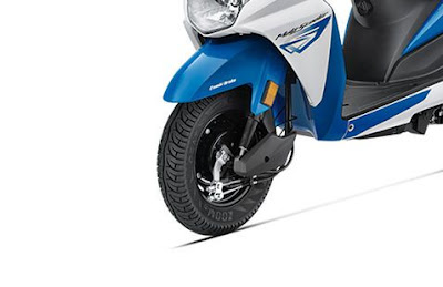 New 2016 Honda Dio front wheel