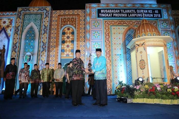 MTQ Ke-46 Tingkat Provinsi Lampung Resmi Dibuka