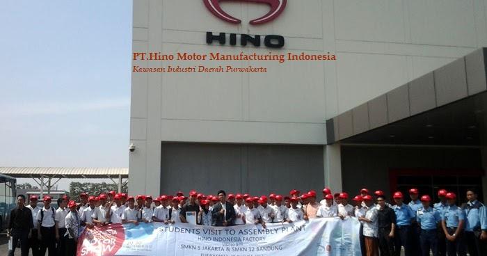 INFO Lowongan kerja PT.Hino Motor Manufacturing Indonesia