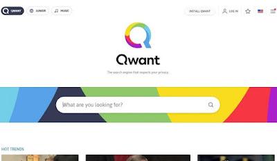 Mesin pencari Qwant
