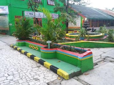 Model Taman Depan Kelas