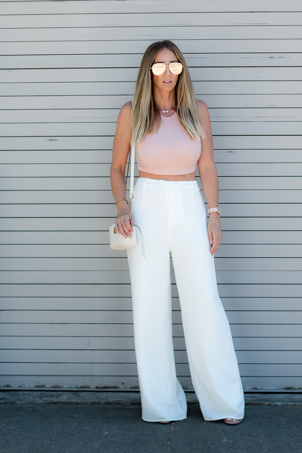 parlor girl talks summers hottest pant trend high waisted wide leg trousers