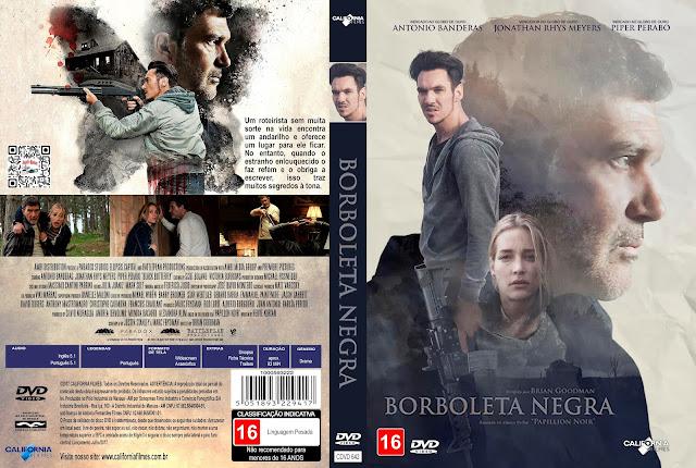 Capa DVD Borboleta Negra [Custom]