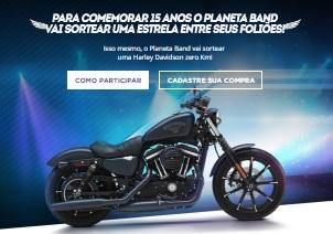 Cadastrar Promoção Planeta Band 2017 Harley Davidson