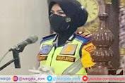 Jelang Bulan Suci Ramadhan dan Operasi Keselamatan 2021, Kasat Lantas Polres Pinrang Terjun Langsung Beri Himbauan