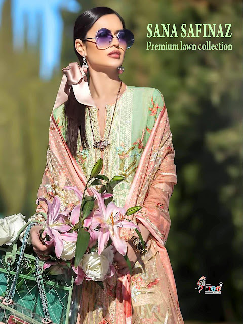 Shree Fab Sana Safinaz Lawn Collection Pakistani Suits