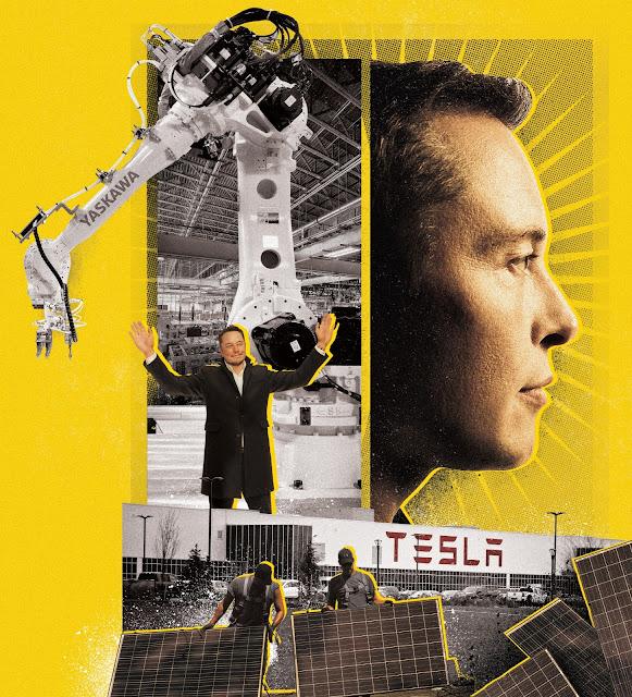 Elon Musk SolarCity illustration