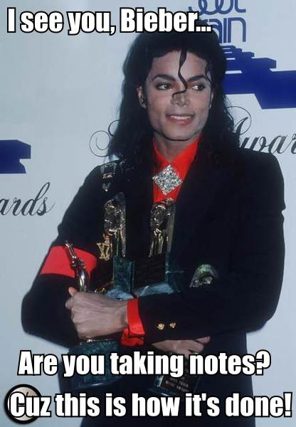MJ Awards Meme