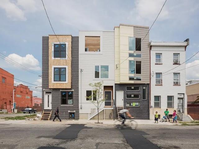 Tìm hiểu một căn nhà phố kiểu Mỹ với cách bố trí công năng lạ lẫm