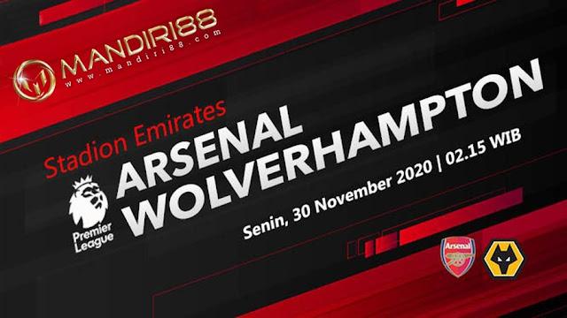 Prediksi Arsenal Vs Wolverhampton Wanderers, Senin 30 November 2020 Pukul 02.15 WIB @ Mola TV