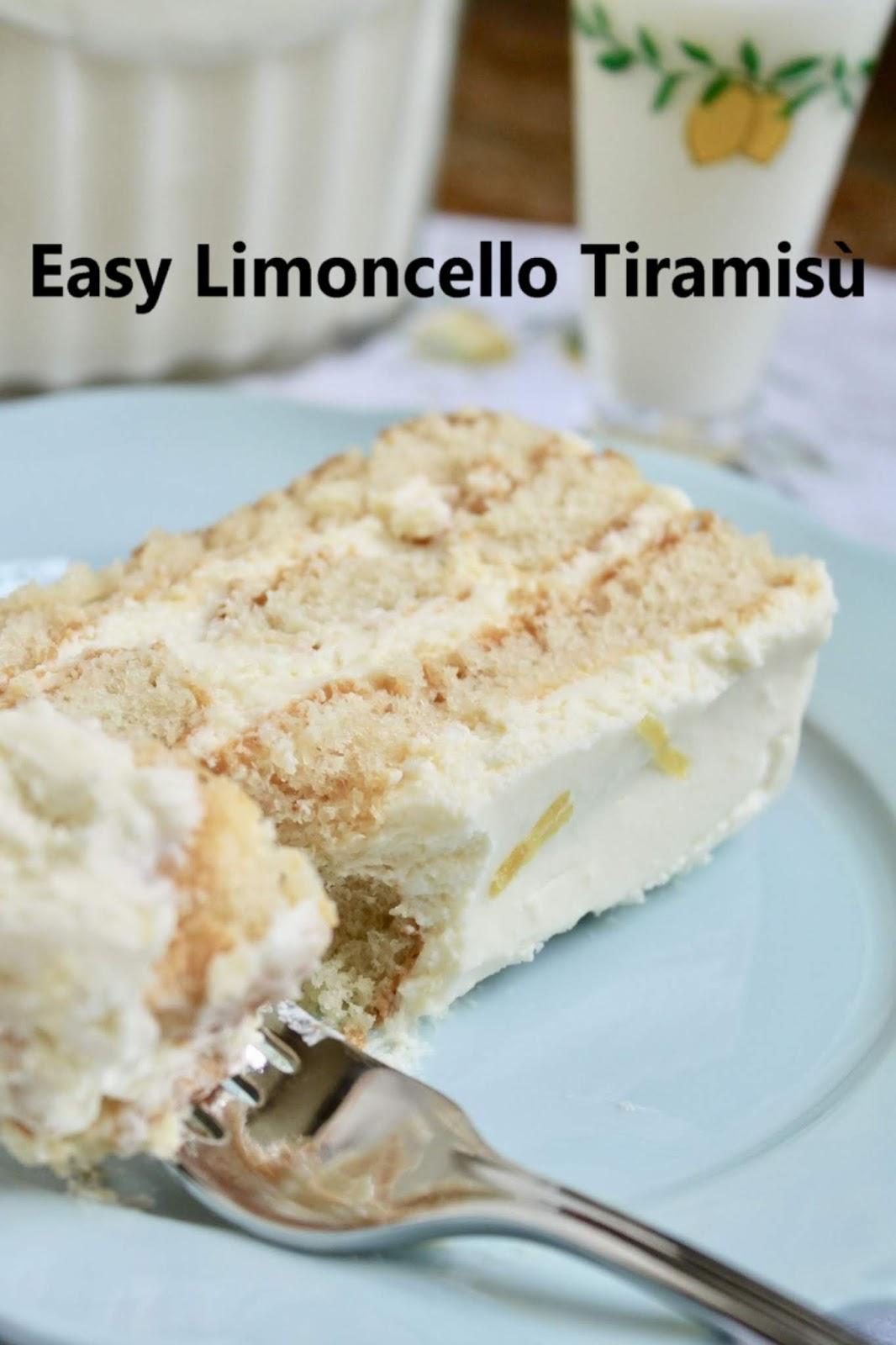 Easy Limoncello Tiramisù