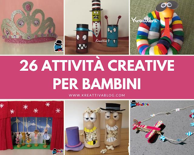 26 Attività creative per bambini