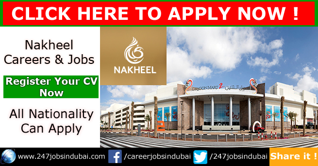 Latest Job Vacancies at Nakheel Jobs and Careers