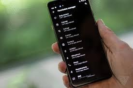 Android 10:  Dark Theme