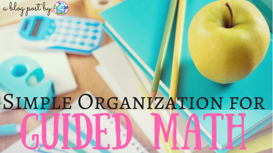 Managing Guided Math Rotations - 3rd Grade Pad