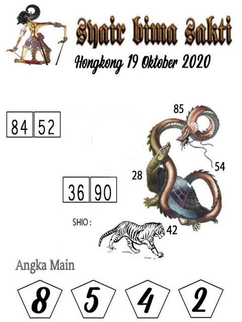 Kode syair Hongkong senin 19 oktober 2020 195