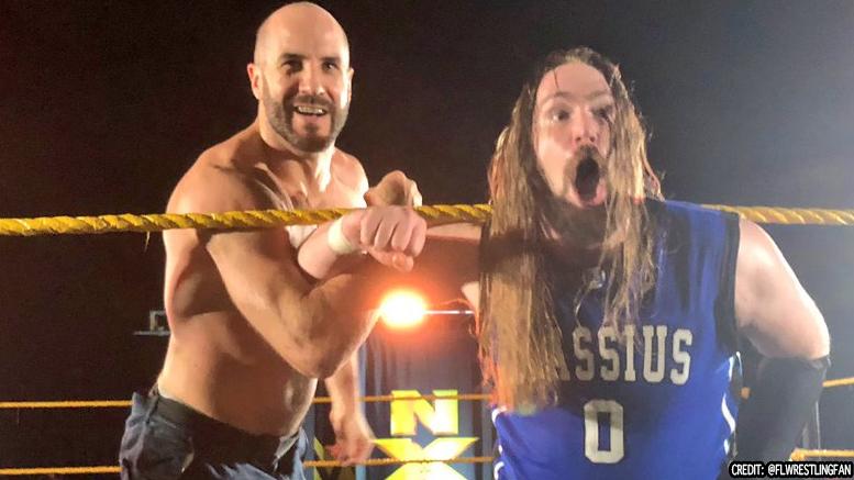 WWE tinha zero intenção de manter Cesaro e Chris Hero quando assinou com ambos
