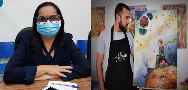 Fatinha Bocão concede Voto de Aplausos ao escritor e artista plástico, Jr. Misaki