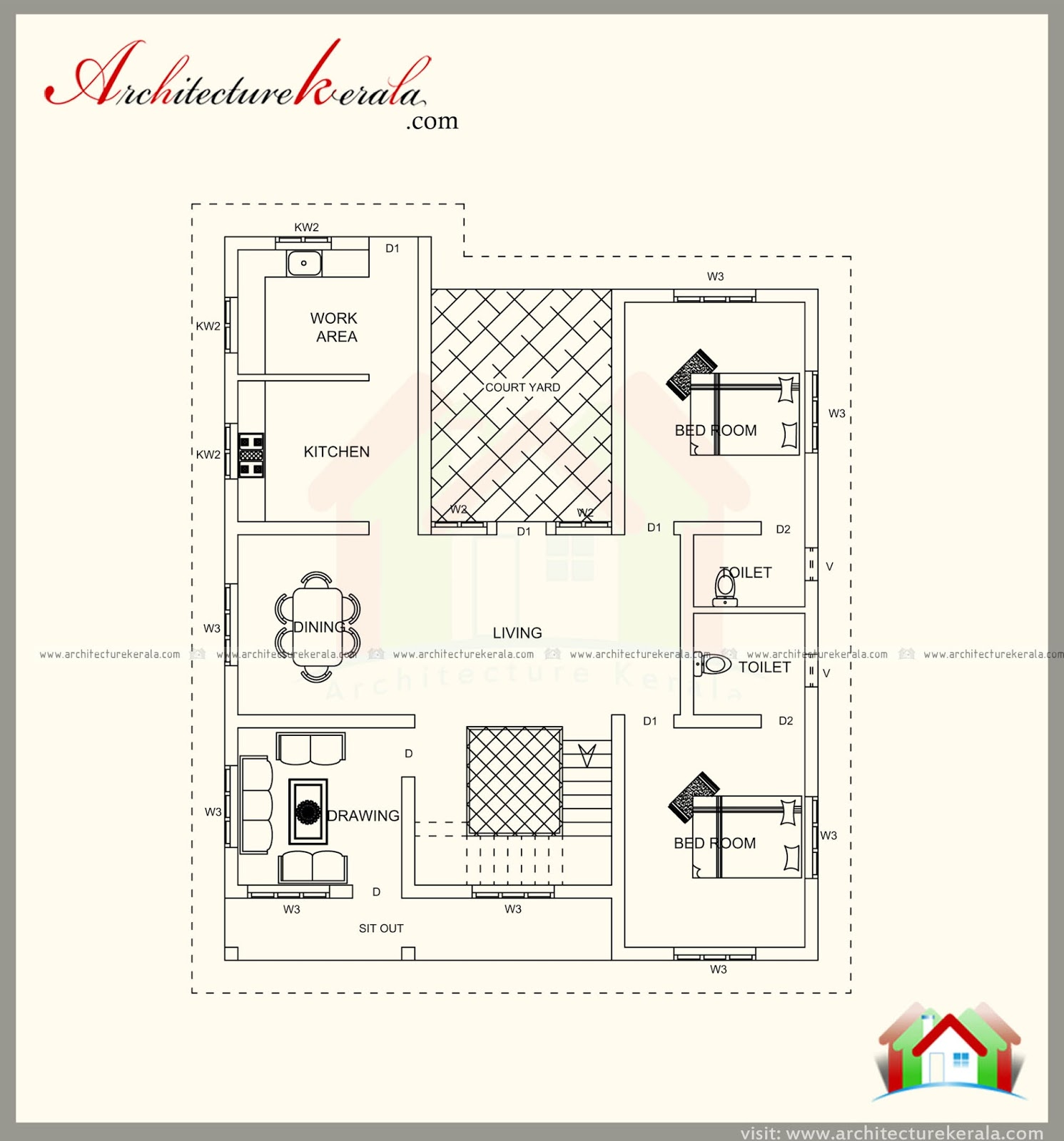 1800 sq ft unique style house plan with beautiful for 1800 square foot house plans