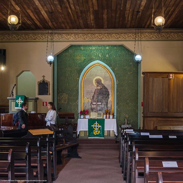 O altar na Christuskirche (Igreja de Cristo)