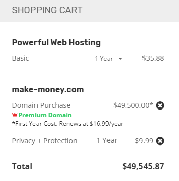 Steps to purchase a shared hosting from Ipage