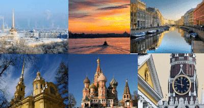 tempat yang bagus berwisata di negara rusia