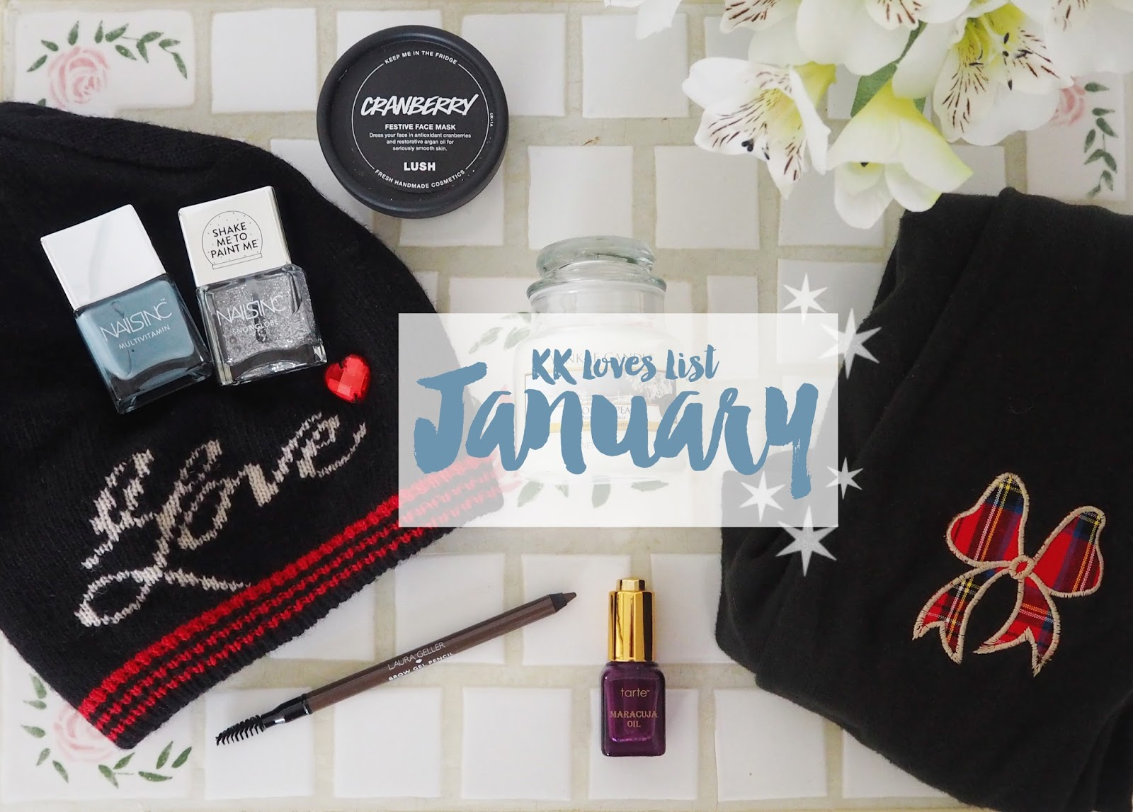 Loves List: January | Katie Kirk Loves
