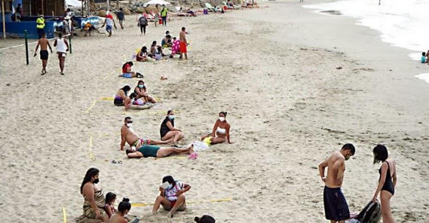 VAMOS A LA PLAYA: Desde hoy está permitido el uso de playas en todo el litoral del país (D. S. N° 152-2021-PCM)