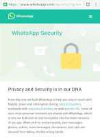 Whatsapp End To End Encryption; Sistem Keamanan Enkripsi Pesan Terbaik