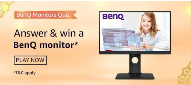 Amazon BenQ Monitors Quiz Answers