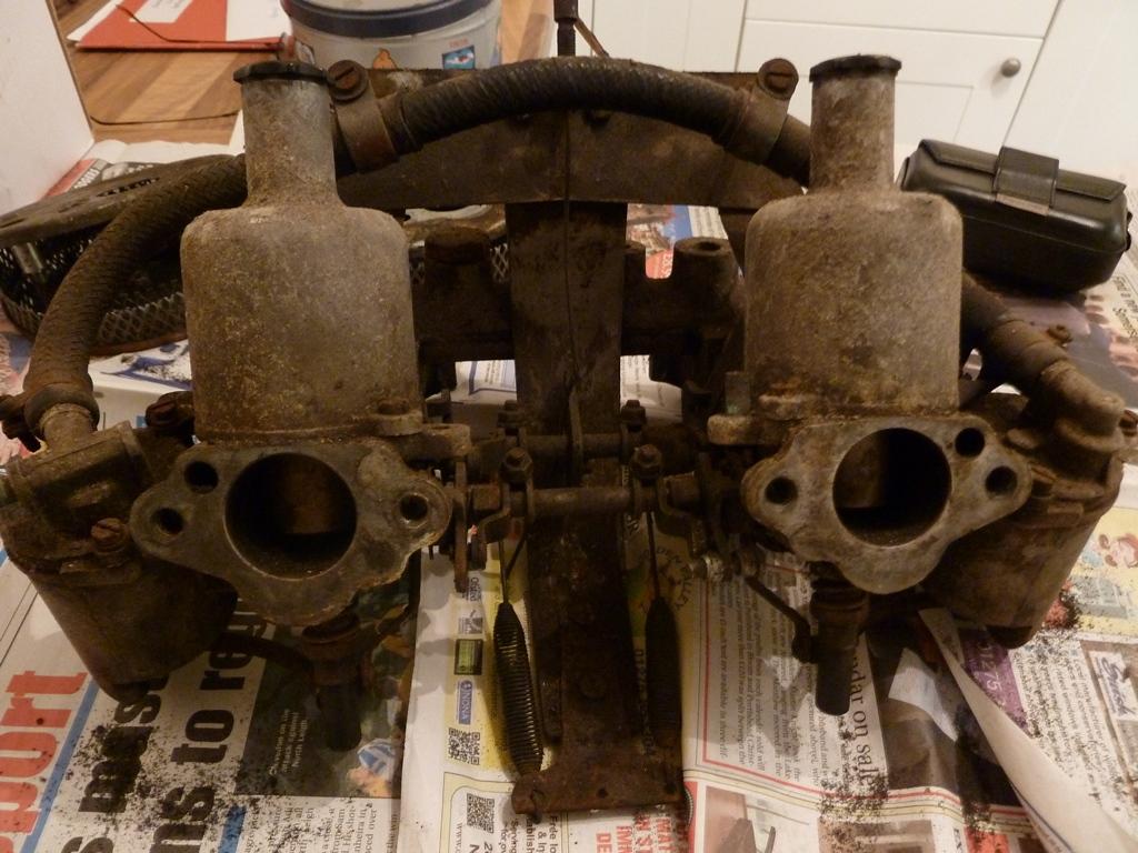 MG Midget 1965 MKII Restoration Project: Rear Brakes Rebuild