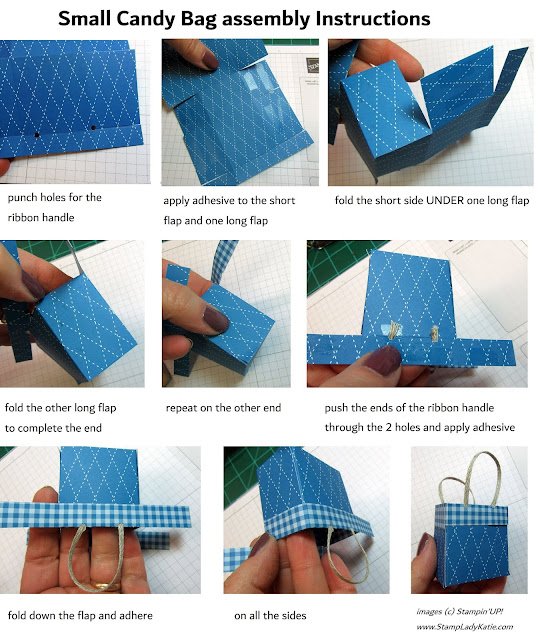 how to fold a gift bag