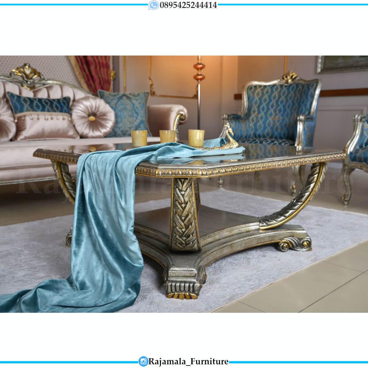 Sofa Tamu Mewah Terbaru Classic Luxury Furniture Jepara RM-0731