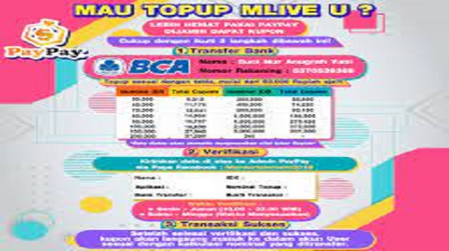 Top Up Mlive