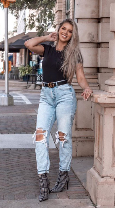 Are you wondering which pieces of clothing are in style this winter? Here we've prepared a complete list of the best winter fashion lookbook. Women's Outfit Ideas via higiggle.com | | #winterstyle #fashion #jeans