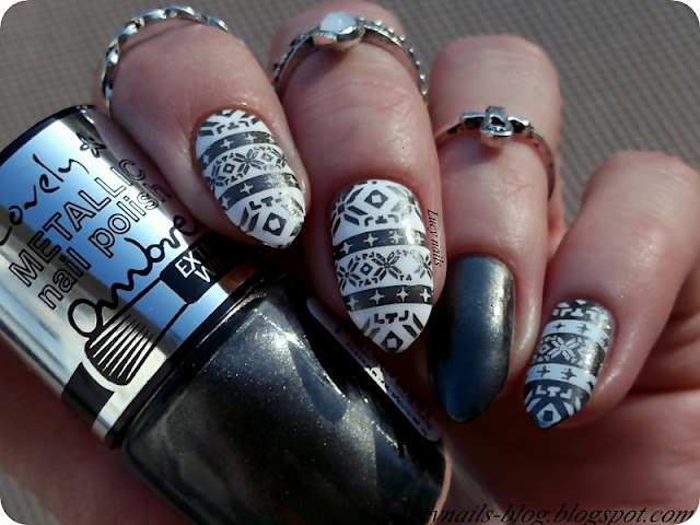 lovely-ombre-metallic-nail-1