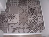 Remont #Hidra Gris, czyli patchwork w łazience