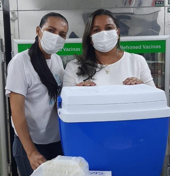 Covid-19: Barreiras recebe o primeiro lote de vacinas da Janssen, novas doses da Pfizer e prossegue com a vacinação neste domingo, 04.