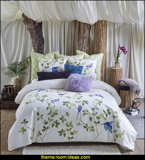 Tanzania Lemala 3 Piece Duvet Set  BIRD THEME BEDROOM DECORATING