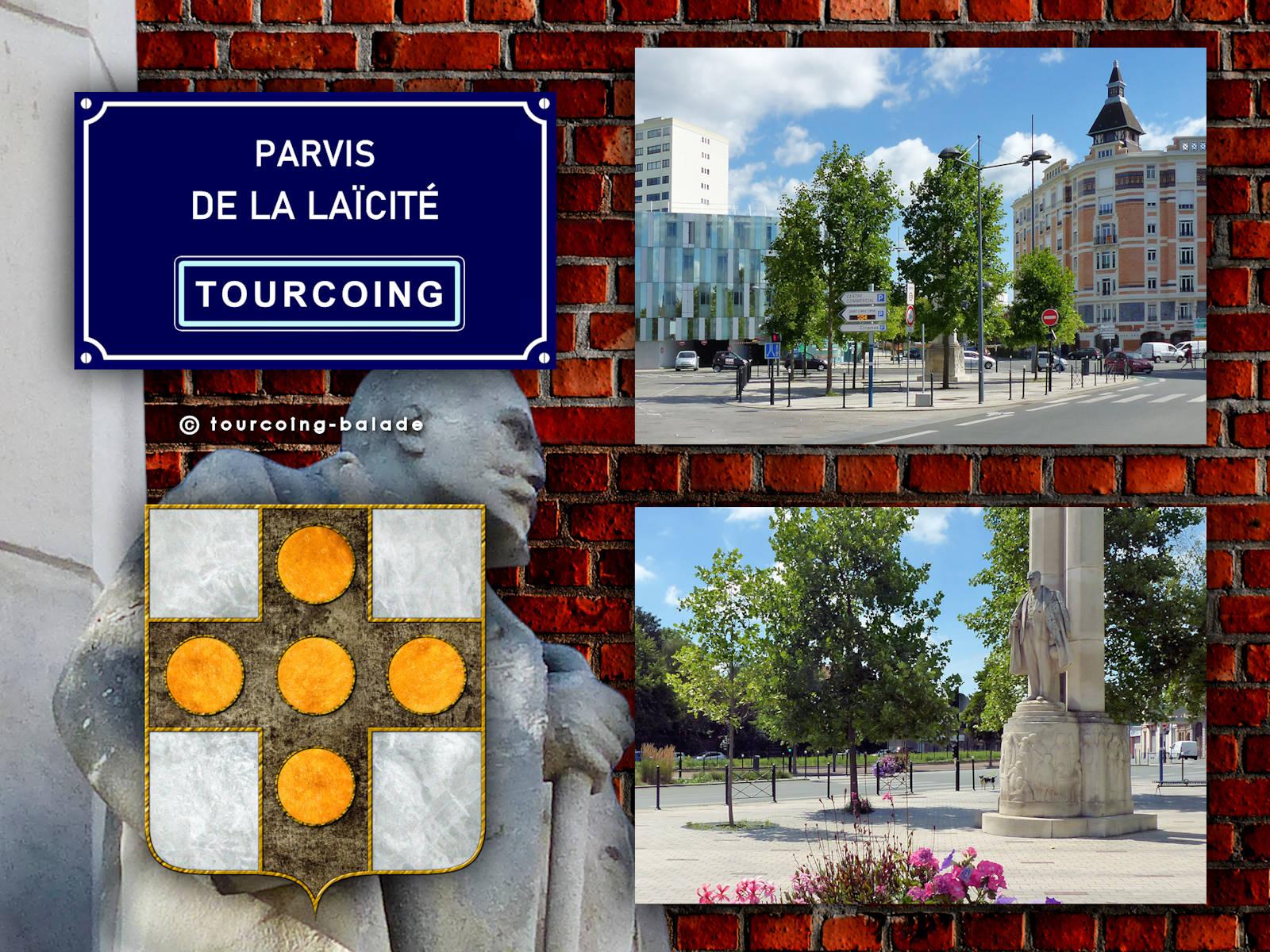 Parvis de la Laïcité, Tourcoing.