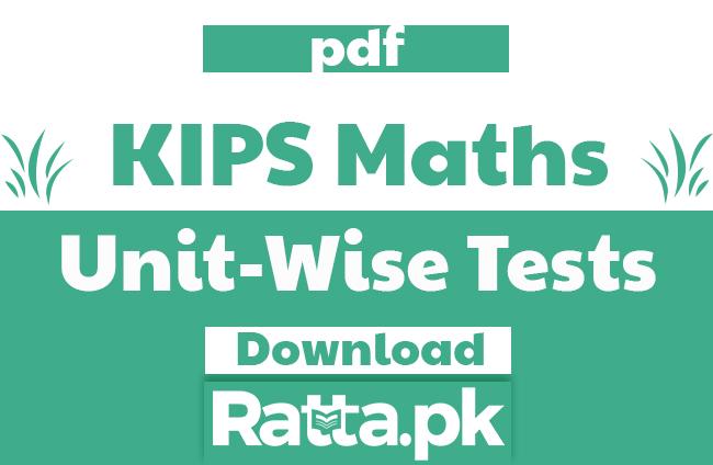 KIPS Maths Unit Wise Tests pdf