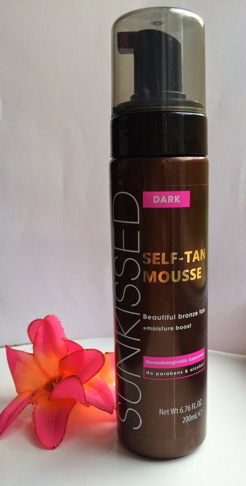 Sunkissed-Dark-Self-tan-mousse-review