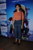 Dangal Fame Sanya Malra with Star Cast of MOvie Poorna (2) Red Carpet of Special Screening of Movie Poorna ~ .JPG
