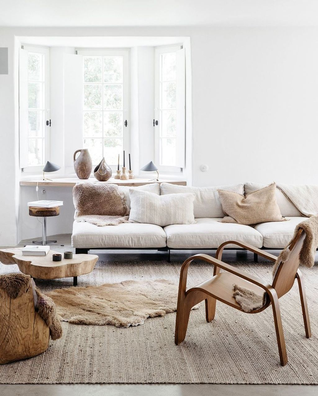 This Belgian Home Is The Perfect Cozy, Clean Slate For Winter